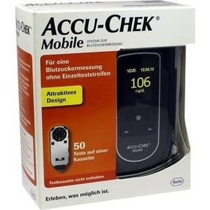 ACCU CHEK Mobile Set mg/dl III