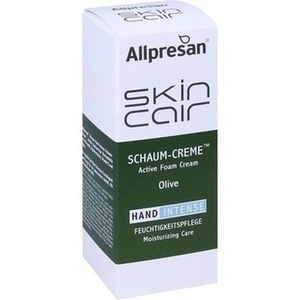 ALLPRESAN Skincair Olive Hand intense Schaum-Creme