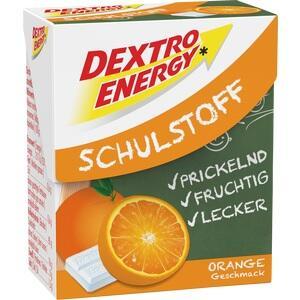 DEXTRO ENERGY Schulstoff Orange Täfelchen