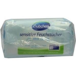 BÜBCHEN Sensitive Feuchttücher Doppelpack