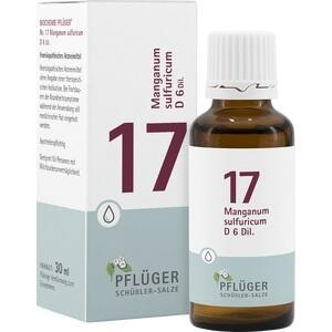 BIOCHEMIE Pflüger 17 Manganum sulfuricum D 6 Tro.