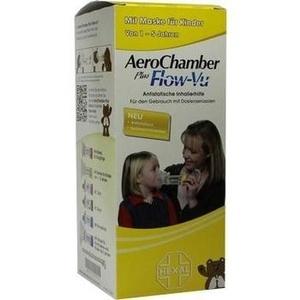 AEROCHAMBER HEXAL mit Maske f.Kinder