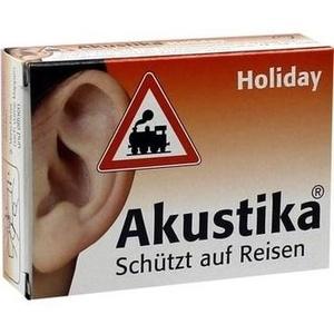 AKUSTIKA Holiday Windschutzwolle+Lärmschutzstöp.