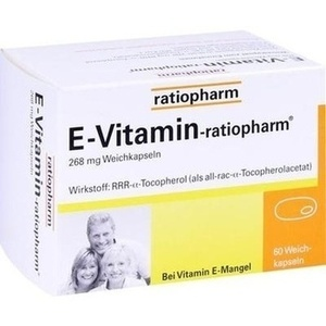 E VITAMIN-ratiopharm Kapseln