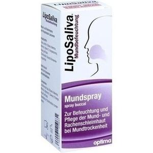 LIPOSALIVA Mundbefeuchtung Spray