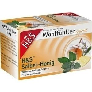 H&S Wohlfühltee Salbei Honig mit Zitrone Fbtl.