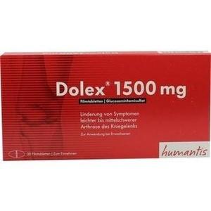 DOLEX 1500 mg Filmtabletten
