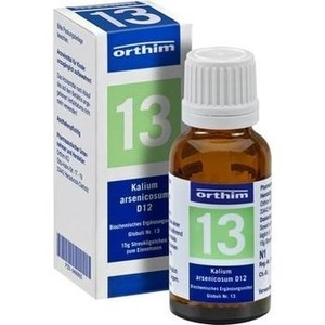 BIOCHEMIE Globuli 13 Kalium arsenicosum D 12