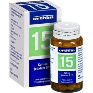 Biochemie Orthim Nr. 15 Kalium Jodatum D12 Tabletten