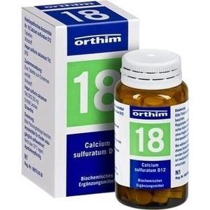 Biochemie Orthim Nr. 18 Calcium Sulfuratum D12 Tabletten