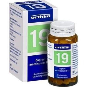 Biochemie Orthim Nr. 19 Cuprum Arsenicosum D12 Tabletten