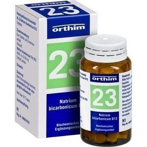 BIOCHEMIE Orthim 23 Natrium bicarbonicum D 12 Tab.