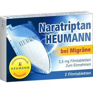 Abbildung von Naratriptan Heumann Bei Migräne 2.5 Mg Filmtabl.  Filmtabletten