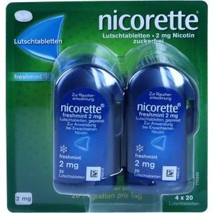 NICORETTE freshmint 2 mg Lutschtabletten (PZN: 09633907)