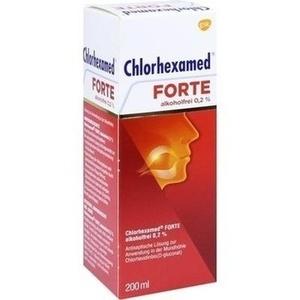 Abbildung von Chlorhexamed Forte Alkoholfrei 0.2%  Lösung