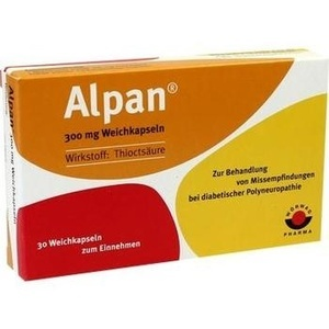 ALPAN 300 mg Weichkapseln