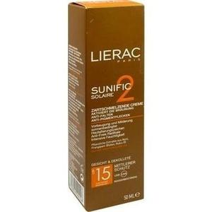LIERAC Sunific LSF 15 Gesicht Creme