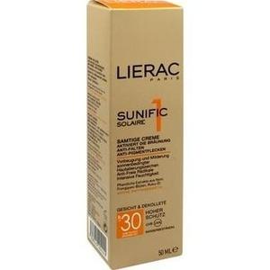 LIERAC Sunific LSF 30 Gesicht Creme