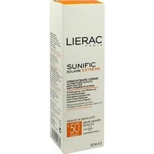 LIERAC Sunific LSF 50 Gesicht Creme