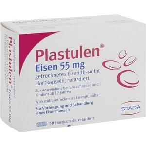 PLASTULEN Eisen 55 mg Retardkapseln