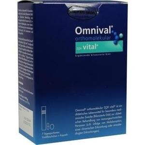 OMNIVAL orthomolekul.2OH vital 7 TP Trinkfläsch.