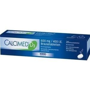 CALCIMED D3 600 mg/400 I.E. Brausetabletten