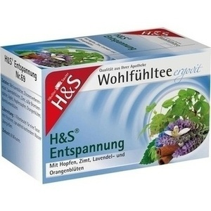 H&S Entspannung Filterbeutel