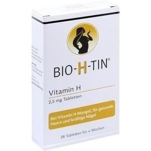 BIO-H-TIN Vitamin H 2,5 mg für 4 Wochen Tabletten