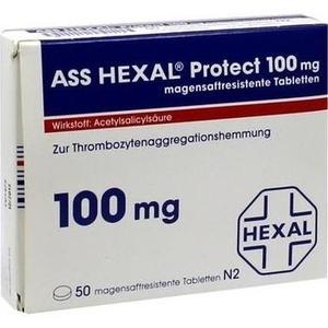 ASS HEXAL Protect 100 mg magensaftres.Tabletten