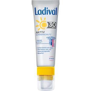 LADIVAL Aktiv Sonnenschutz f.Gesicht u.Lipp.LSF 30