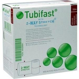 TUBIFAST 2-WAY-STRETCH 3,5 cmx10 m rot