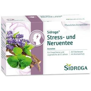 SIDROGA Stress- und Nerventee Filterbeutel