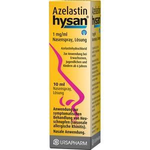 AZELASTIN hysan 1 mg/ml Nasenspray