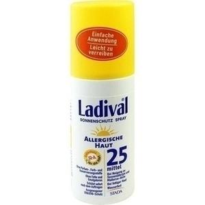 LADIVAL allergische Haut Spray LSF 25