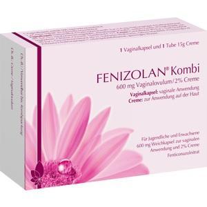 FENIZOLAN Kombi 600 mg Vaginalovulum+2% Creme