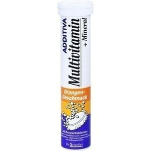 ADDITIVA® Multivitamin + Mineral Orange Brausetabletten