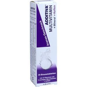 ADDITIVA Multivit.+Mineral+Coff.Ananas R Br.-Tabl.