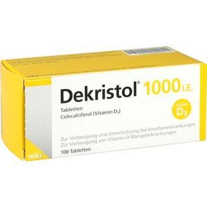 Abbildung von Dekristol 1000 I.e. Tabletten