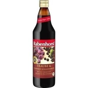 RABENHORST Traube & schw.Johannisbeere Bio Saft