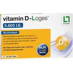 VITAMIN D-LOGES 5.600 I.E. Kautabletten