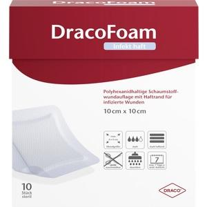 DRACOFOAM Infekt haft Schaumst.Wundauf.10x10cm