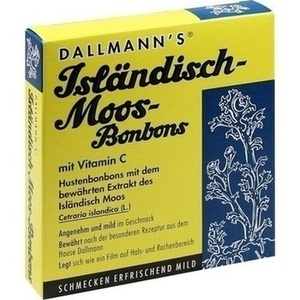 DALLMANN'S Isländisch Moos-Bonbons