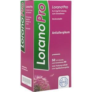 LORANOPRO 0,5 mg/ml Lösung zum Einnehmen