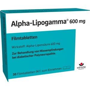 ALPHA LIPOGAMMA 600 mg Filmtabletten