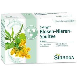 SIDROGA Blasen-Nieren-Spültee Filterbeutel