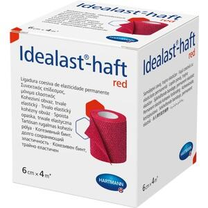 IDEALAST-haft color Binde 6 cmx4 m rot