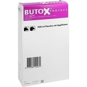 BUTOX Protect 7,5mg/ml pour on Sus.z.Überg.Ri+Sch.