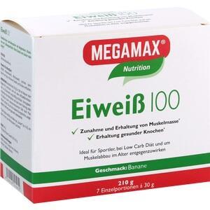 EIWEISS 100 Banane Megamax Pulver