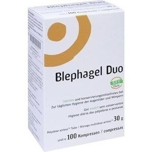 BLEPHAGEL Duo 30 g+Pads
