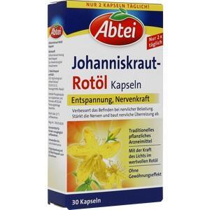 ABTEI Johanniskraut Rotöl Kapseln